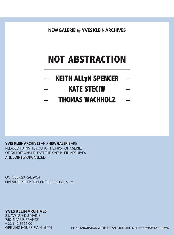 new galerie, not abstraction