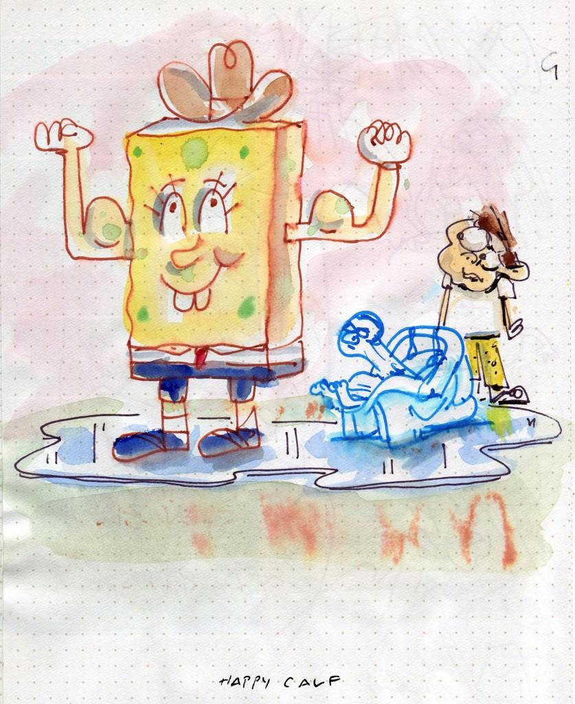 sponge buff