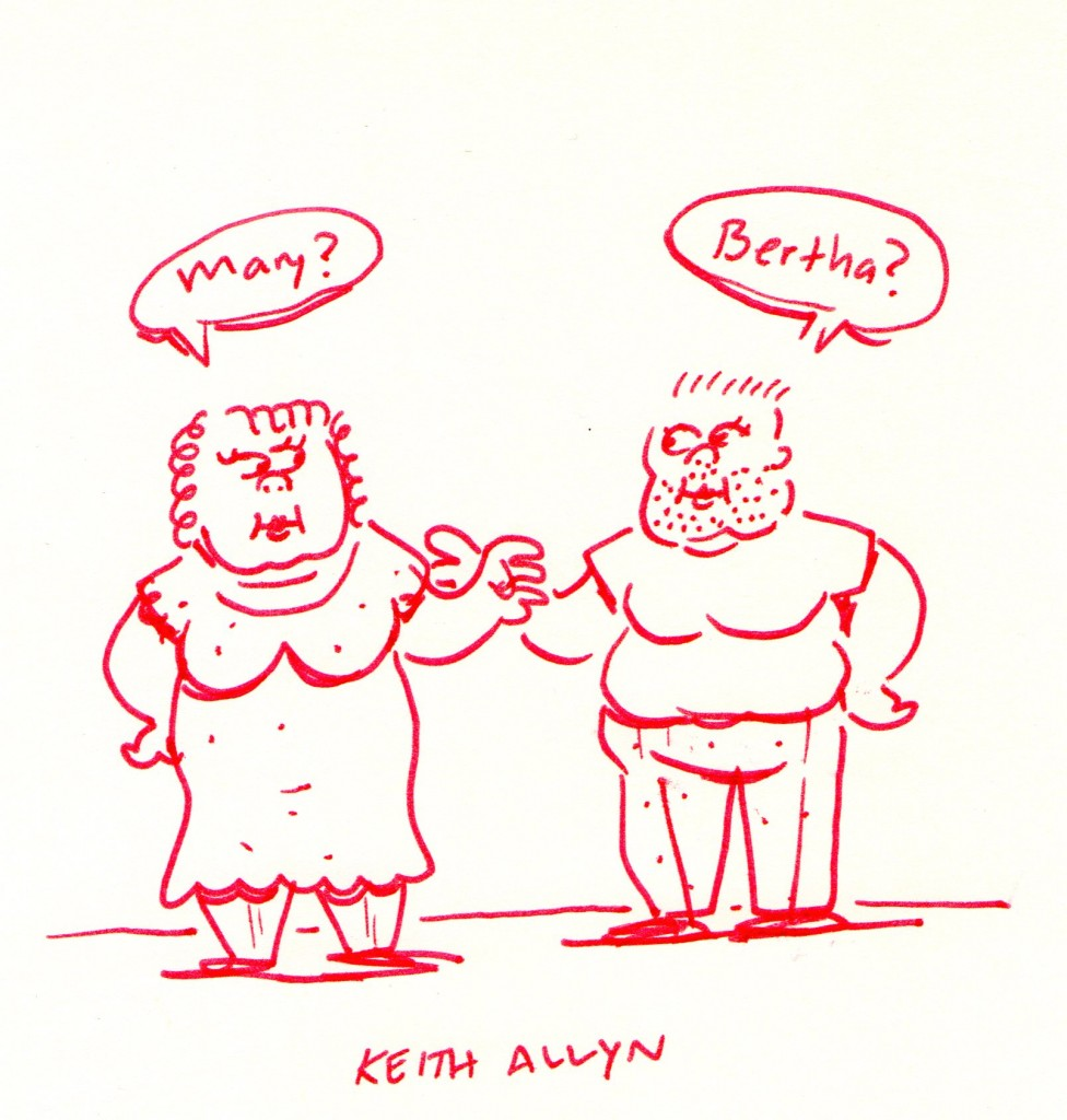 butch cartoon, keithallyn