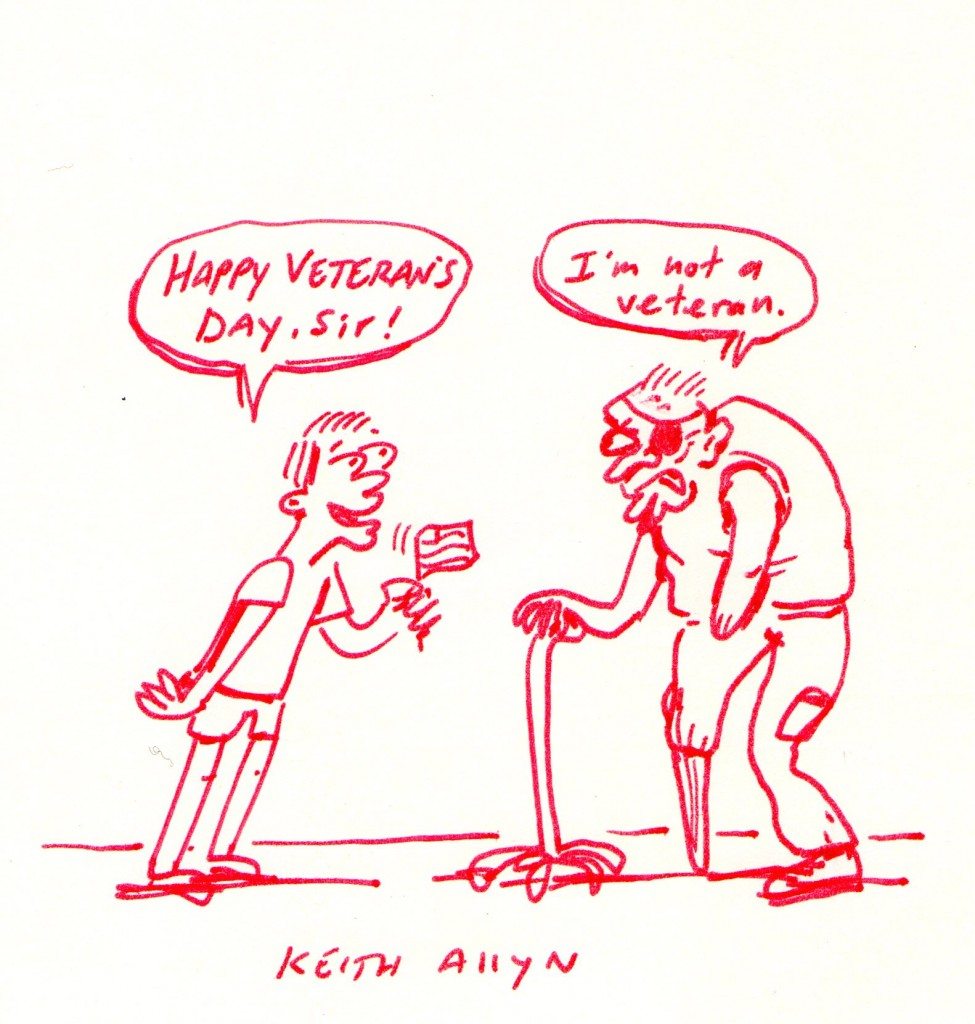 veterans day cartoon, keithallyn
