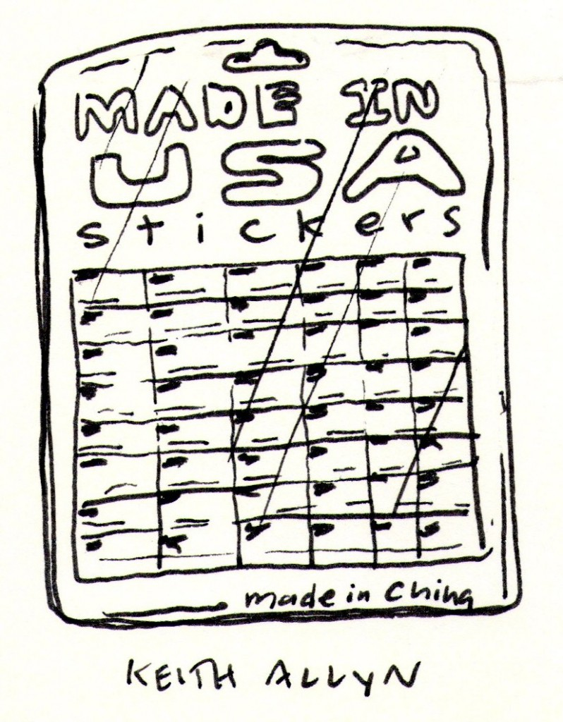 made in usa, cartoon, keithallyn