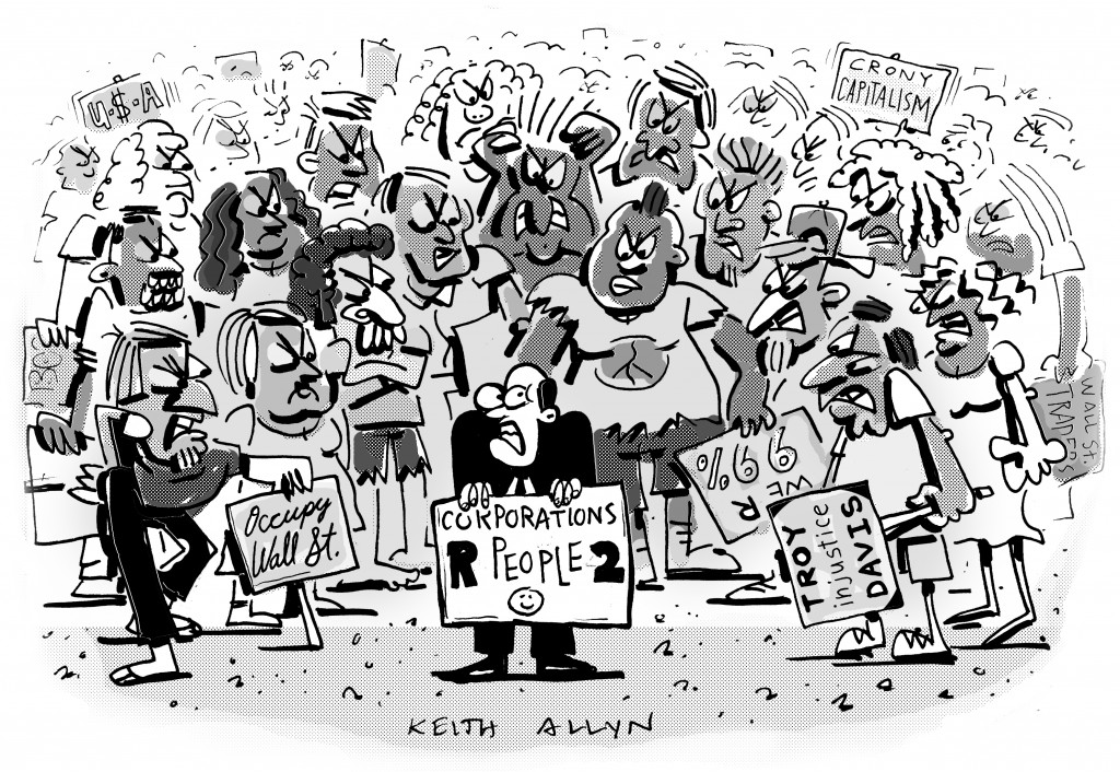occupy wall street cartoon, occupy wall street, occupy wall street art, keithallyn, cartoon, el paso