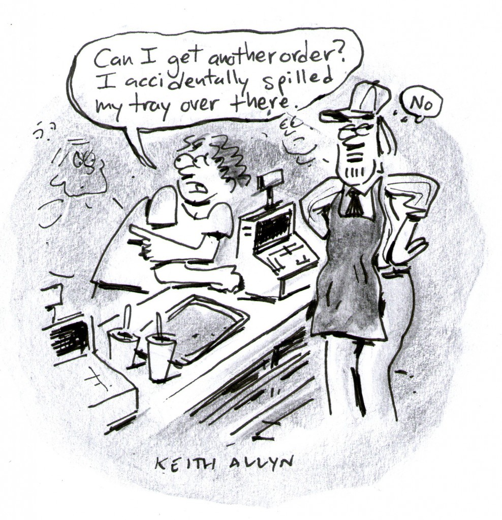 fastfood cartoon, keithallyn